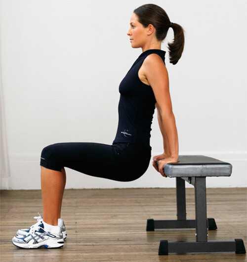 Top 10 Dips cvičenie