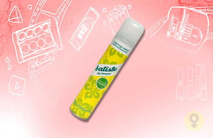 Top 10 tørre shampoo til rådighed