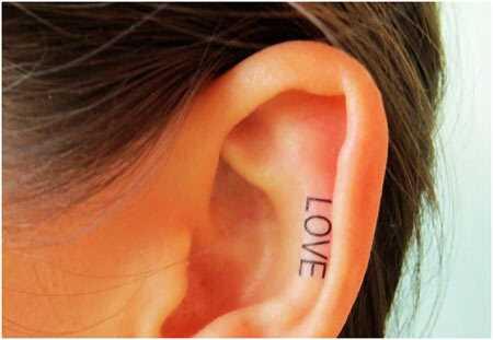 10 tetovanie Super Cool Ear