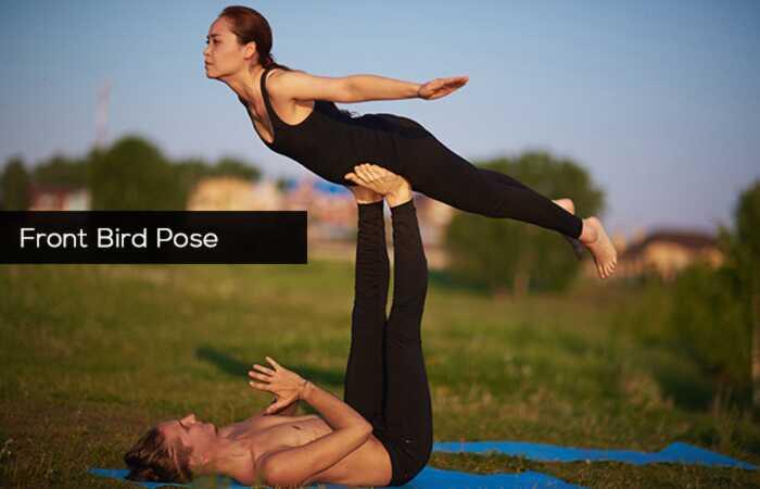 5 efektívnych Acro Yoga predstavuje zdravé telo