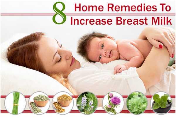 8 účinných domácich liekov na zvýšenie mlieka prsníka