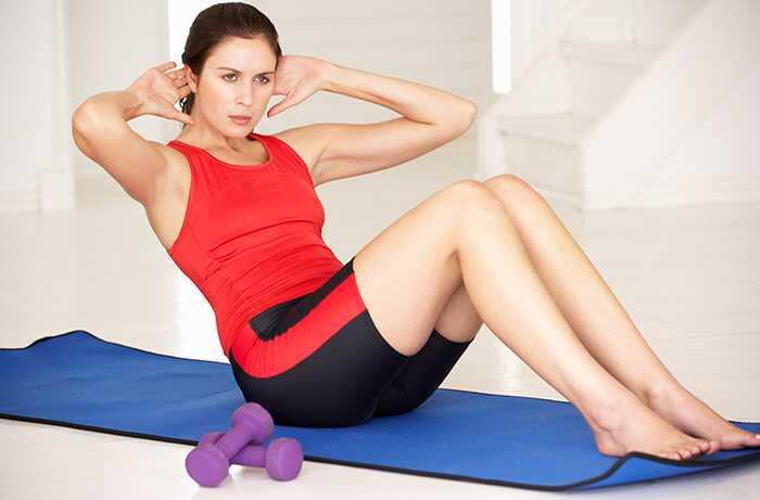 7 účinnejších nižších Abs Cvičenie pre ženy
