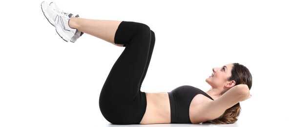 16 jednoduchých cvičení na zníženie brušného tuku