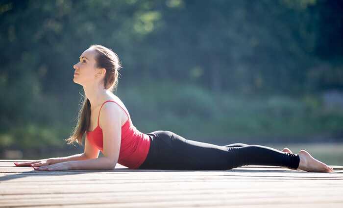 6 effektive yoga øvelser for at få vægt