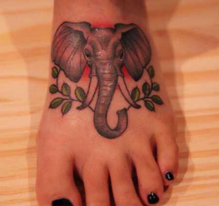 Top 10 dizajn tetovania slonov