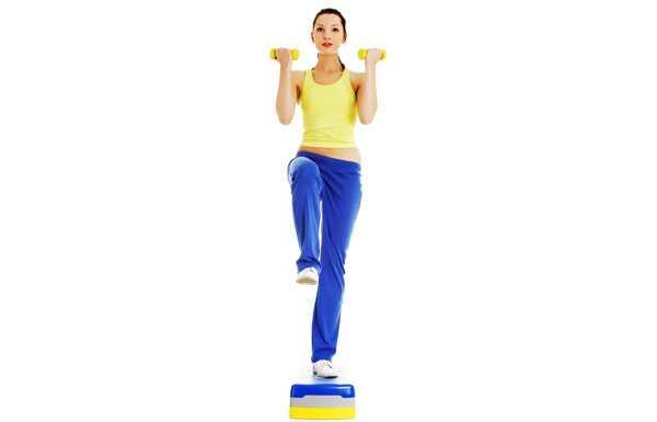 10 cvičení pre typ karosérie v tvare hrušky