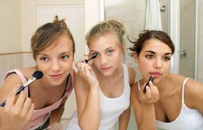 Ansigt smink tips til teenage piger