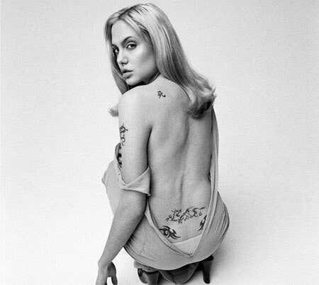 Top 10 návrhov tetovania ženských celebrít
