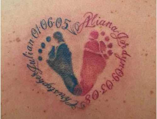 Top 10 tetovanie stopy dizajn
