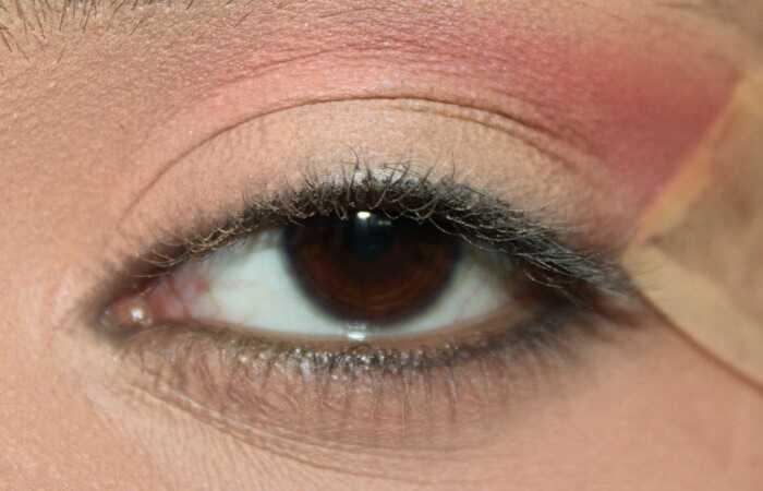 Galaxia inšpirovaná tutoriál očný make-up - s podrobnými krokmi a obrázkami