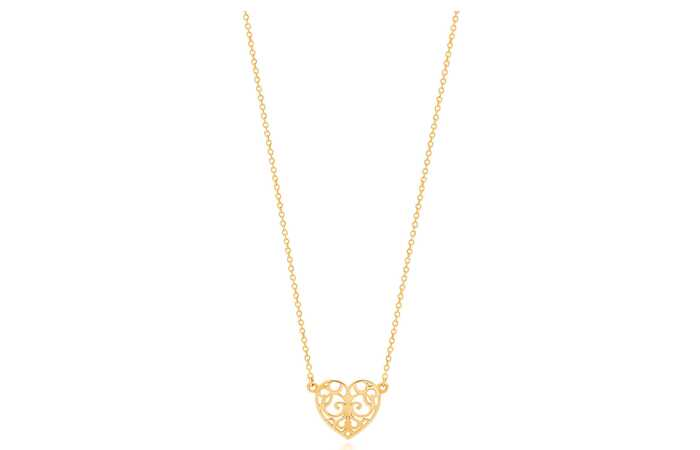 20 najnovších Light weight gold necklace designs for Women