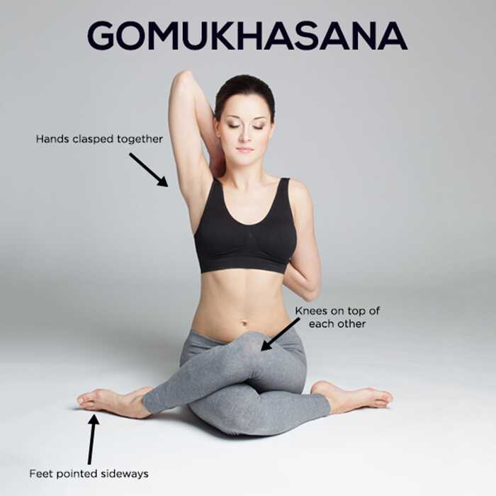 Ako urobiť Gomukhasana a aké sú jej výhody