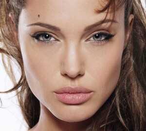 Gode teknikker til Jolie's makeup