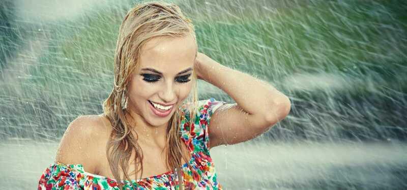 Starostlivosť o vlasy po daždi