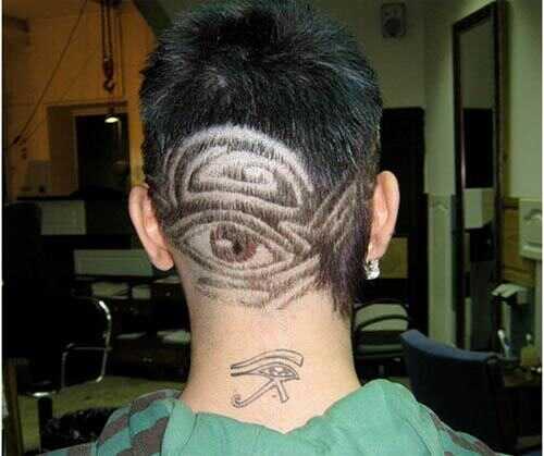 10 dissenys de tatuatges de cabell intrincats