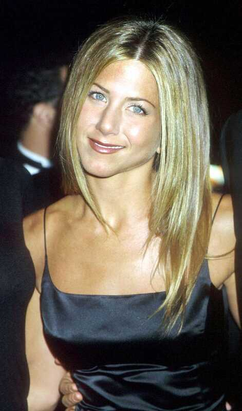 Účes Evolúcia Jennifer Aniston