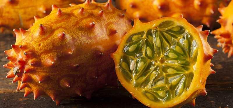 10 fantastiske sundhedsmæssige fordele ved Kiwano - Horned Melon