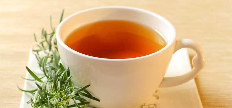 10 úžasných prínosov pre Rosemary čaj