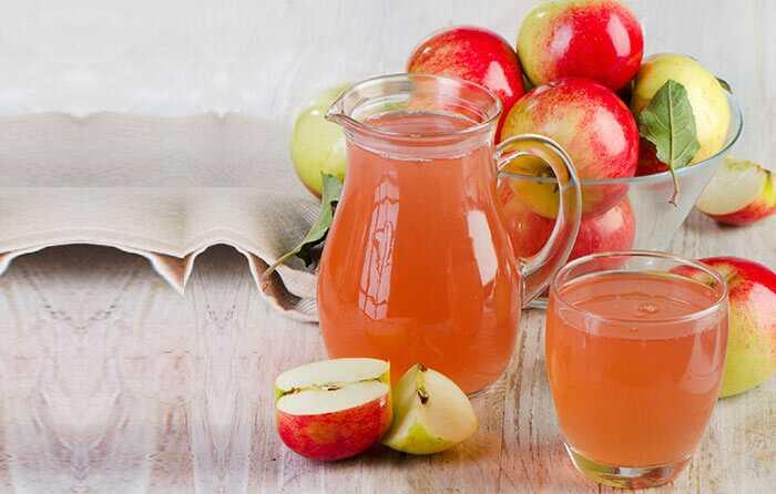 5 sunde frugtsaft at tage under graviditeten