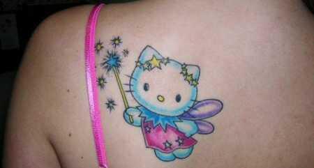 15 roztomilé a krásne tetovanie Hello Kitty