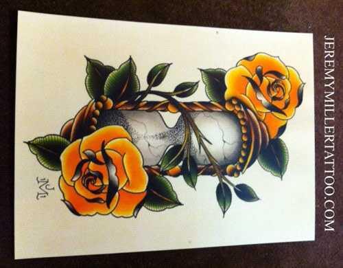 10 Fabulous Hourglass tatoveringsdesign