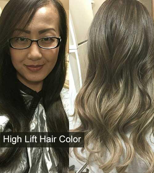 Ako funguje vysoká farba vlasov zdvihu?
