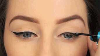 Sådan appliceres eyeliner perfekt