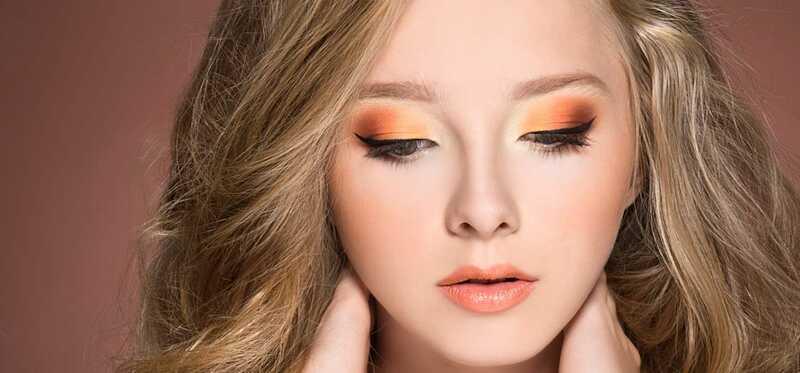 Hoe maak je oranje oog make-up?
