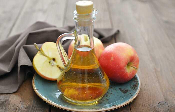 Sådan bruger du æblecider eddike til eksem