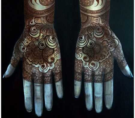 8 zanimivih oblik Bisha Mistry's Mehndi
