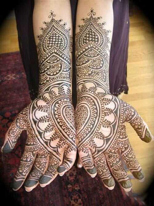 10 Intricate Rajasthani Mehndi designs til at inspirere dig