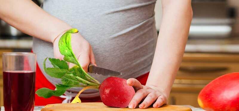Je bezpečné jesť reďkovky počas tehotenstva?