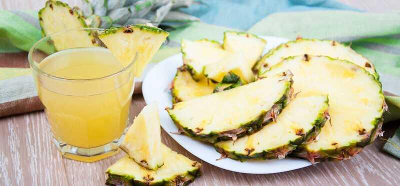 Je ananás účinný pre vyčerpaný žalúdok?