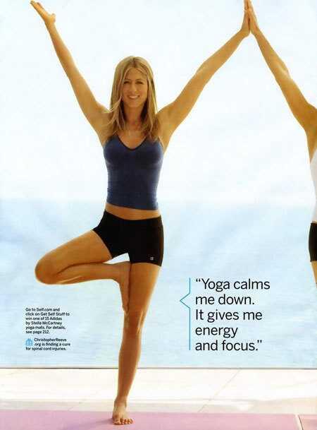 Krása a fitness tajomstvá Jennifer Aniston