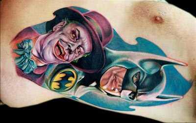 Top 10 Jokeri tätoveeringukujundused