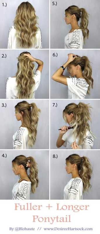 20 Úžasné účesy pre dlhé vlasy