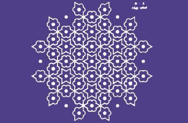 Κορυφαία 10 πιο πρόσφατα σχέδια Kolam