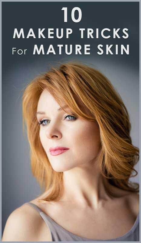 Top 10 make-up triky pre staršie ženy
