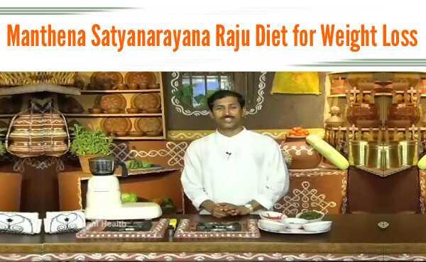 Manthena Satyanarayana Raju kost tips til vægttab