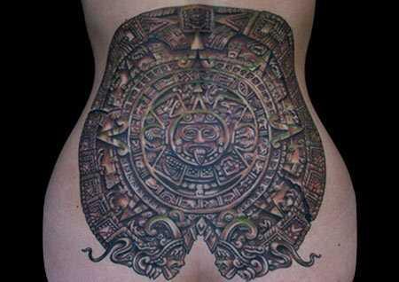 10 Staroveké mayské tetovanie