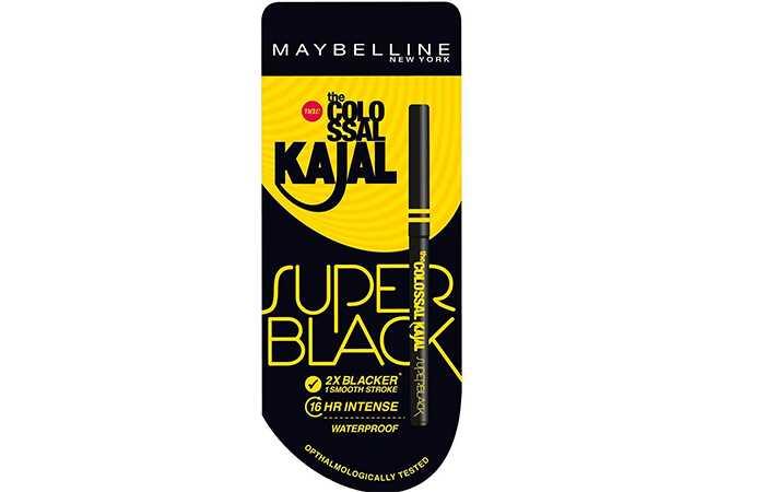Maybelline Colossal Kajal Super Black Review