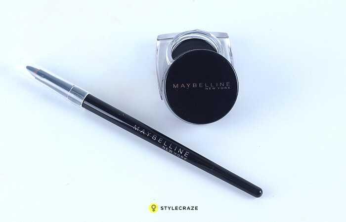 Maybelline Eye Studio Trvalý dramatický gél Liner Black Review