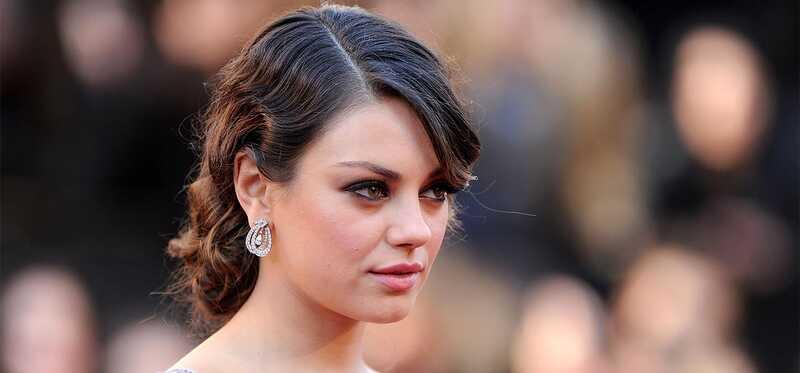 Mila Kunis make-up, krásu a fitness tajomstvo odhalenie