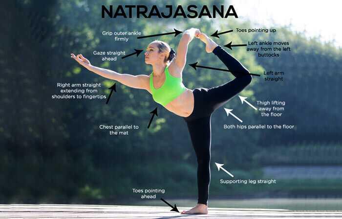 Ako urobiť Natarajasana a aké sú jej výhody