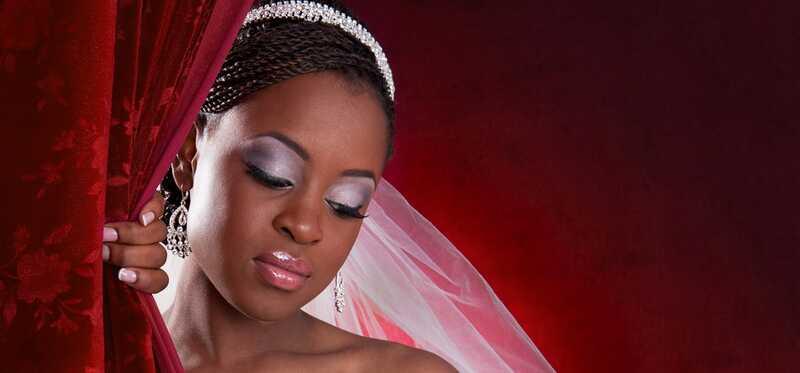 Nigérijský svadobný makeup - jednoduchý postupný tutoriál