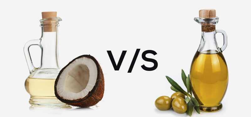 Olivový olej Vs Kokosový olej - čo je lepšie?