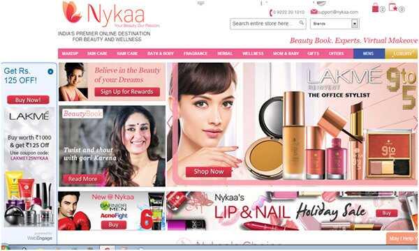 Top 5 internetových obchodných stránok na nákup kozmetických produktov