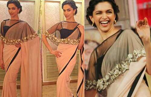 20 Gorgeous Party wear Sarees med bluse design til 2017