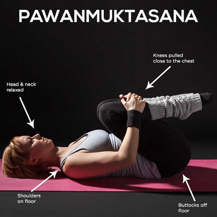 Hvordan man laver Pawanmuktasana og Hvad er dens fordele