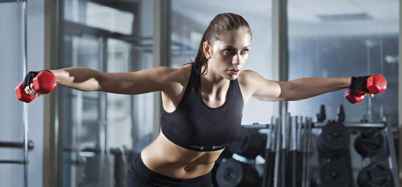 4 nuostabios naudos iš galinės deltos kelia treniruotę